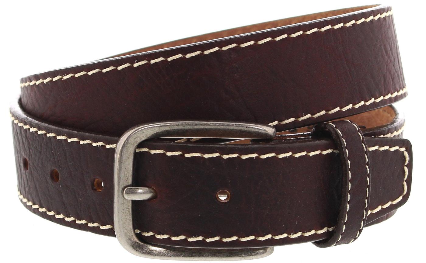 Justin Belts BISON BOULEVARD C13695 Brown Westerngürtel - braun