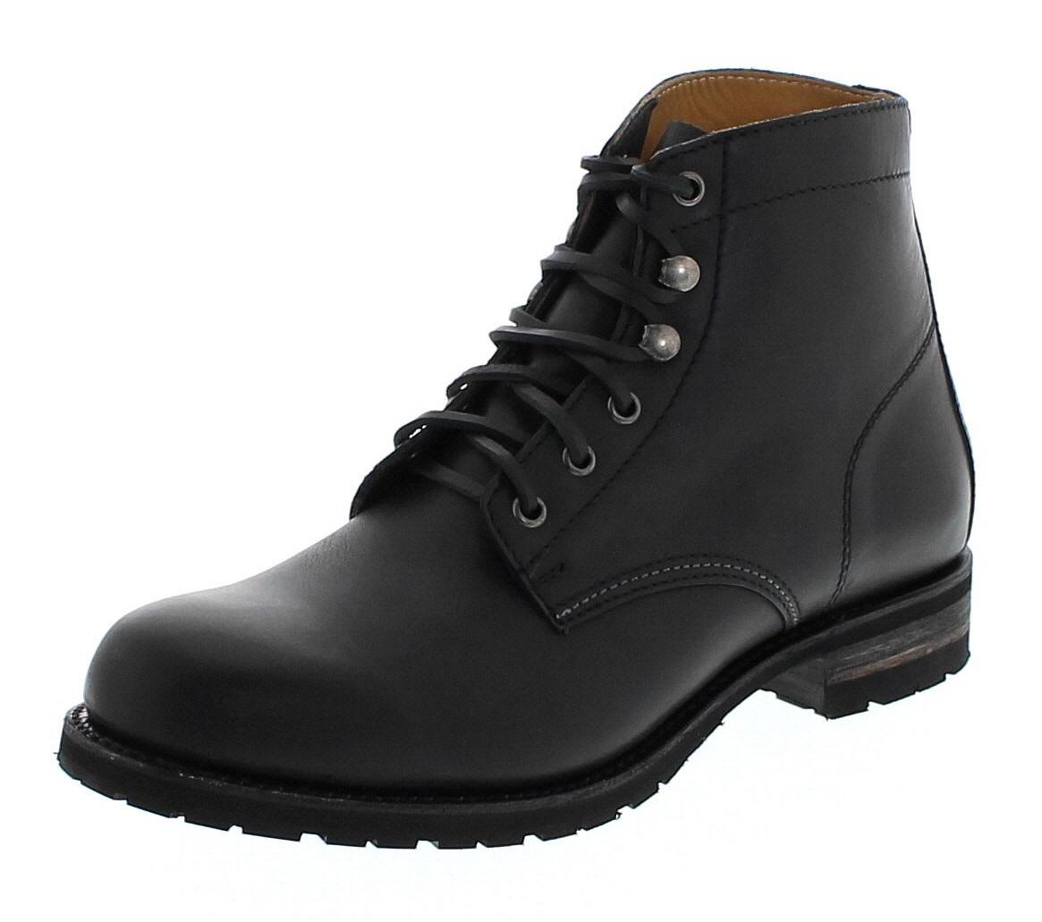 Sendra Boots 10604 Sprinter Negro laced boot - black