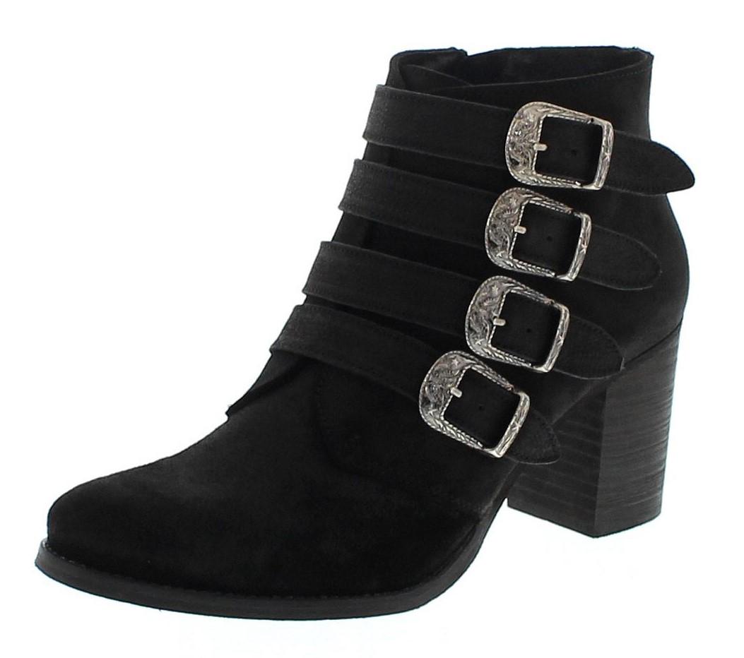 Fashion Boots FW1014 Negro Roca Fashion Stiefelette - schwarz