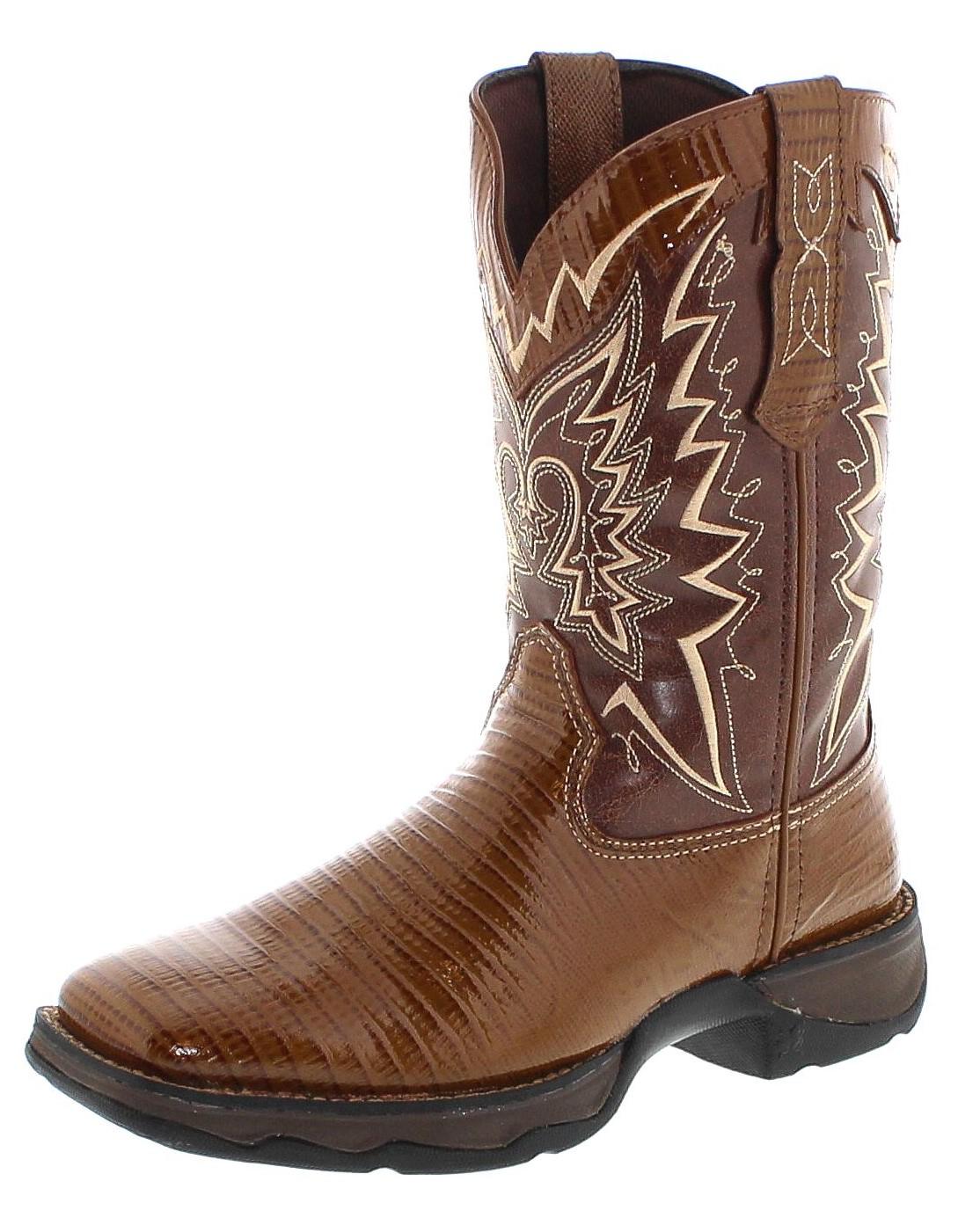 Durango Boots SNAKE OIL RD030 Brown Westernreitstiefel - braun
