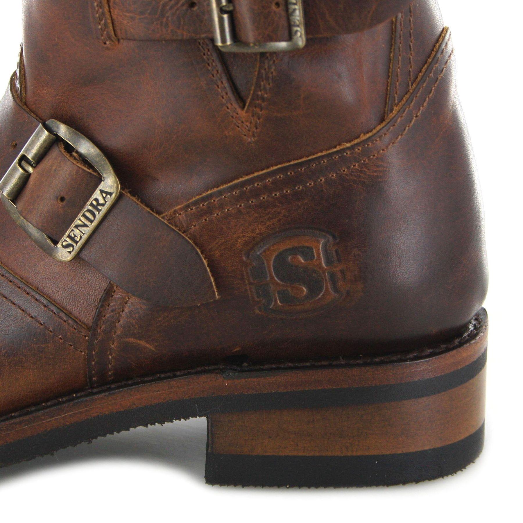 sendra boots 2976 evolution engineer men ankle boot with. Black Bedroom Furniture Sets. Home Design Ideas