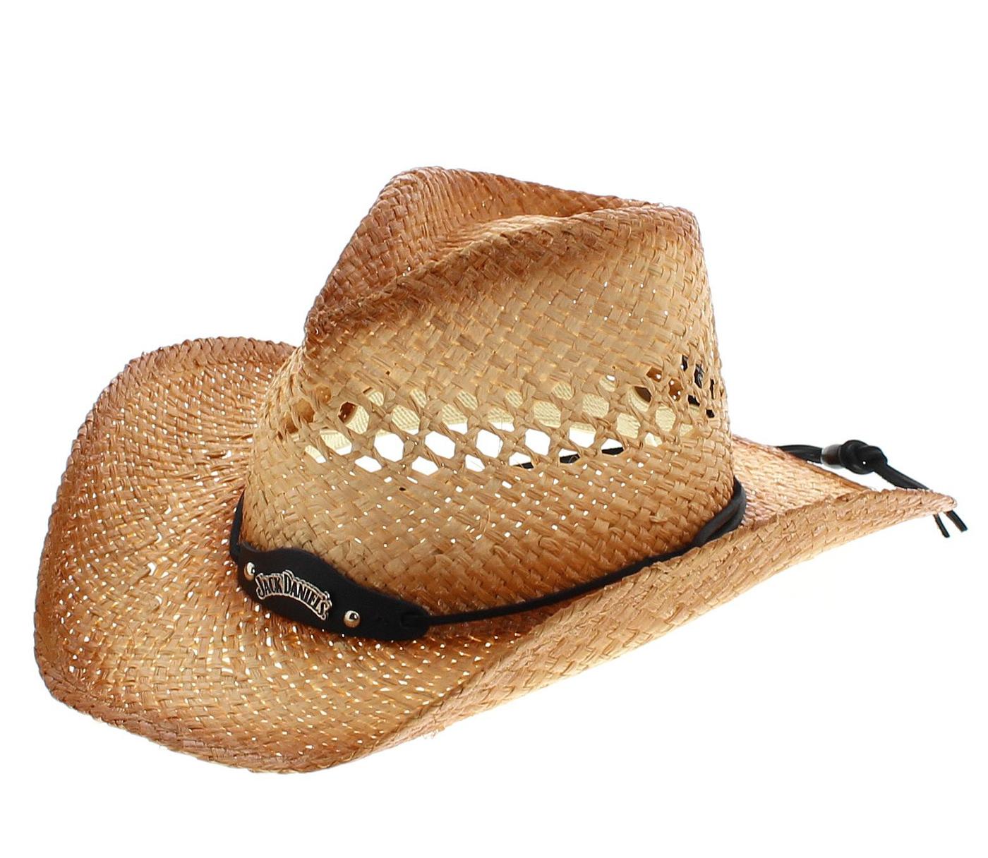 Jack Daniels JD03-59 SUMMER HAZE Natural Cowboy Hat