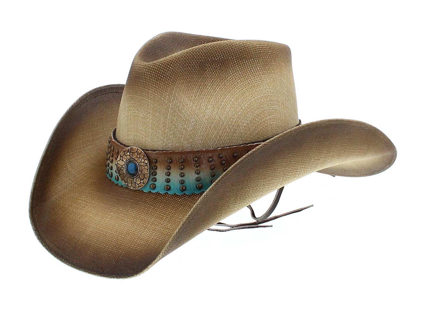 Dallas Hats ELLIE Natural Used Cowboy Hat