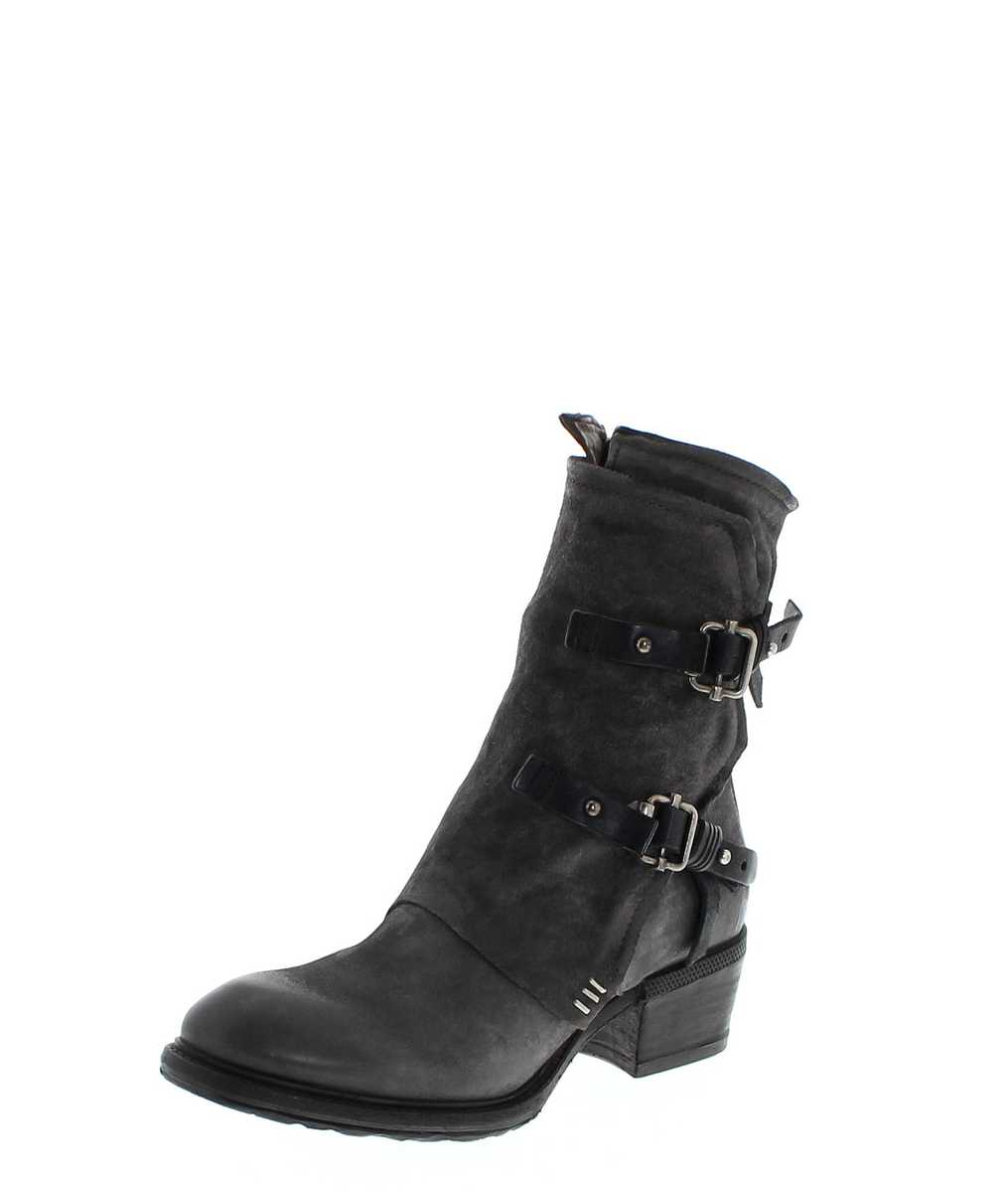 A.S.98 260206 Nebbia Nero Ankle Boot - grey