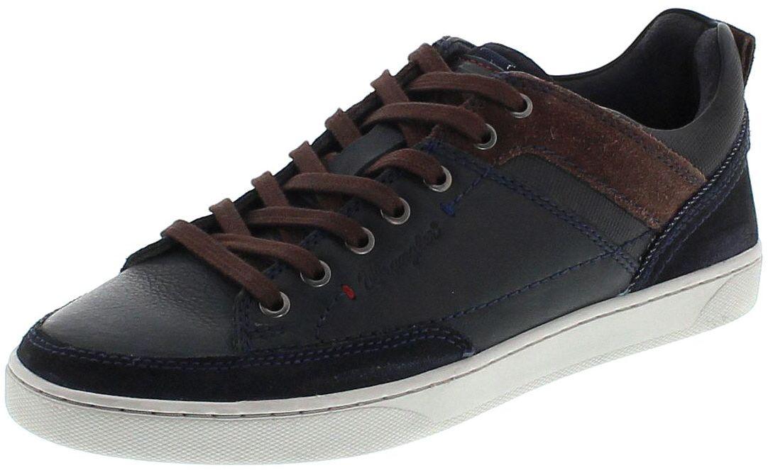 Wrangler WM172110 JASPER LOW Navy Herren Sneaker - blau