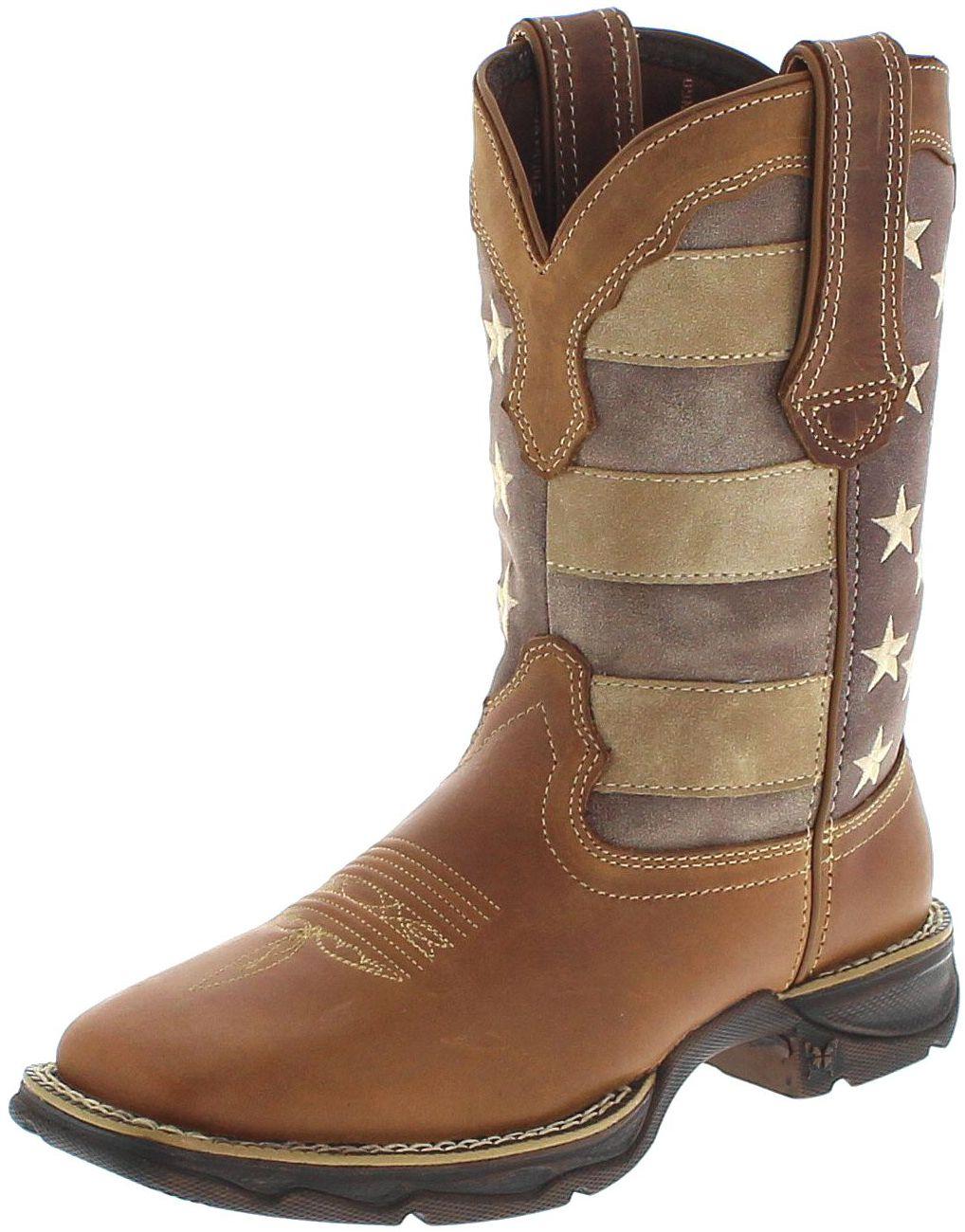 Durango Boots DRD0107 LADY REBEL Brown Westernreitstiefel - braun