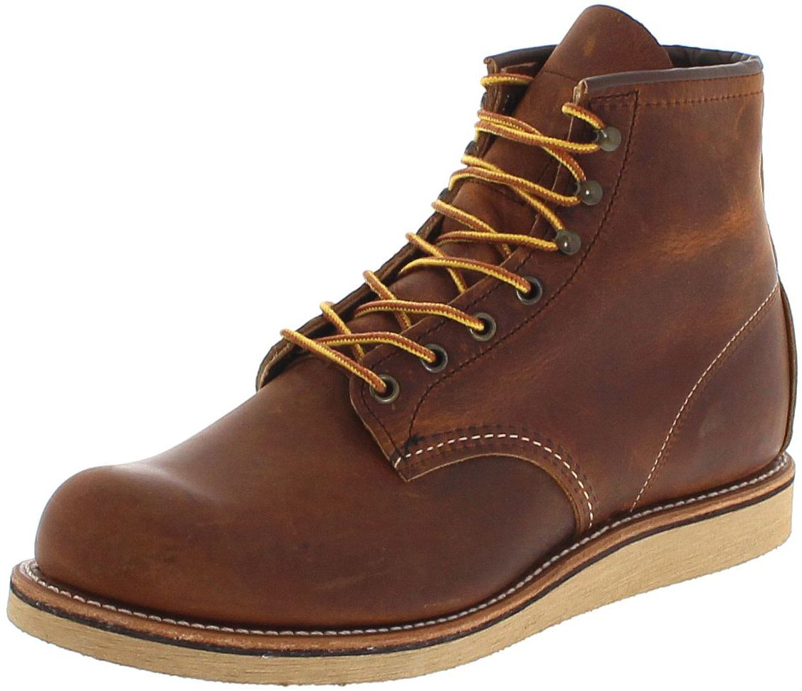 Red Wing Shoes ROVER 2950 Copper lace-up boots - brown