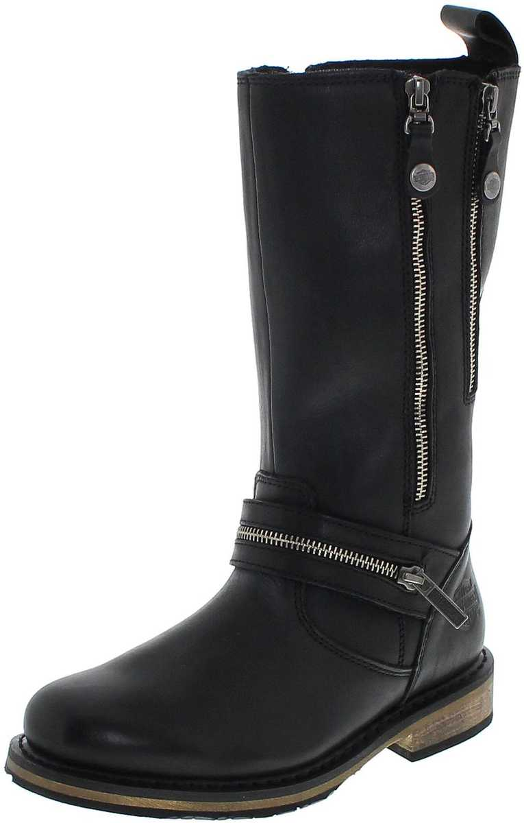 Harley-Davidson SACKETT D83949 Black Engineerboots without steelcaps - black