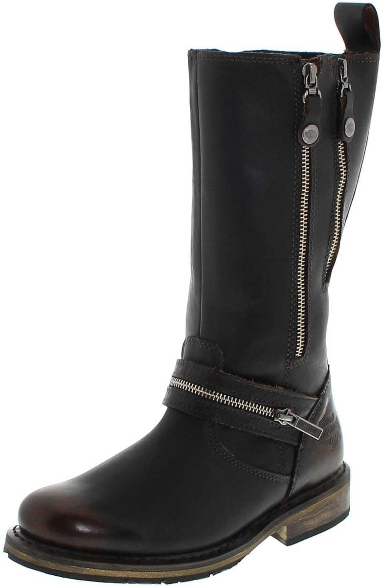 Harley-Davidson SACKETT D83950 Brown Engineerboots without steel caps - brown