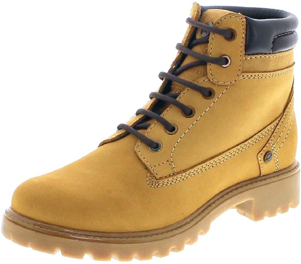 Wrangler CREEK WL172500 Tan Yellow Damen Schnürstiefel - beige