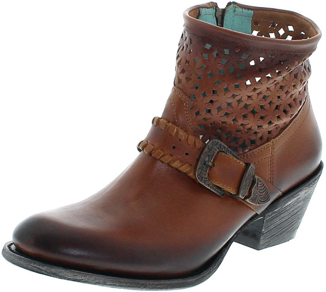Corral Boots Z0016 Brown Fashion bootee - brown