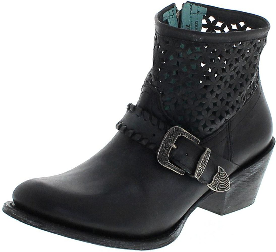 Corral Boots Z0015 Black Fashion Stiefelette - schwarz