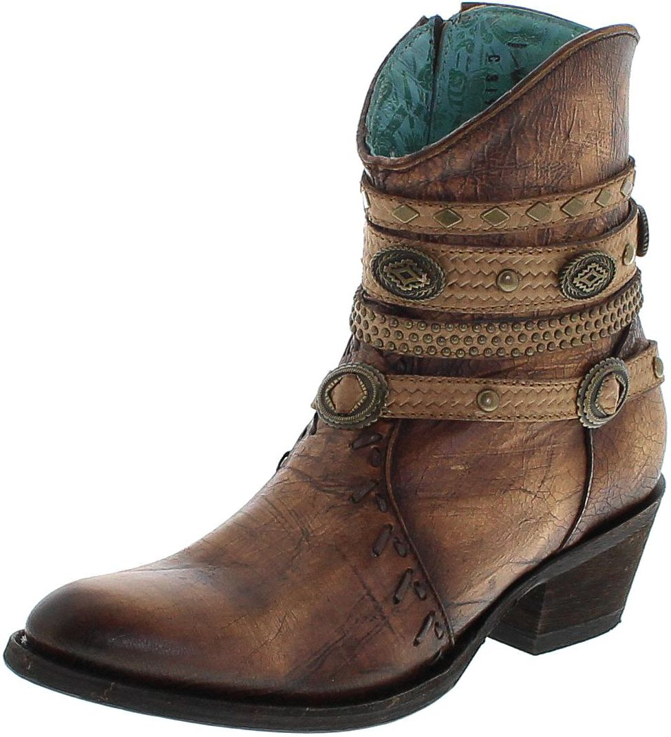 Corral Boots C3195 Tabaco Fashion bootee - brown