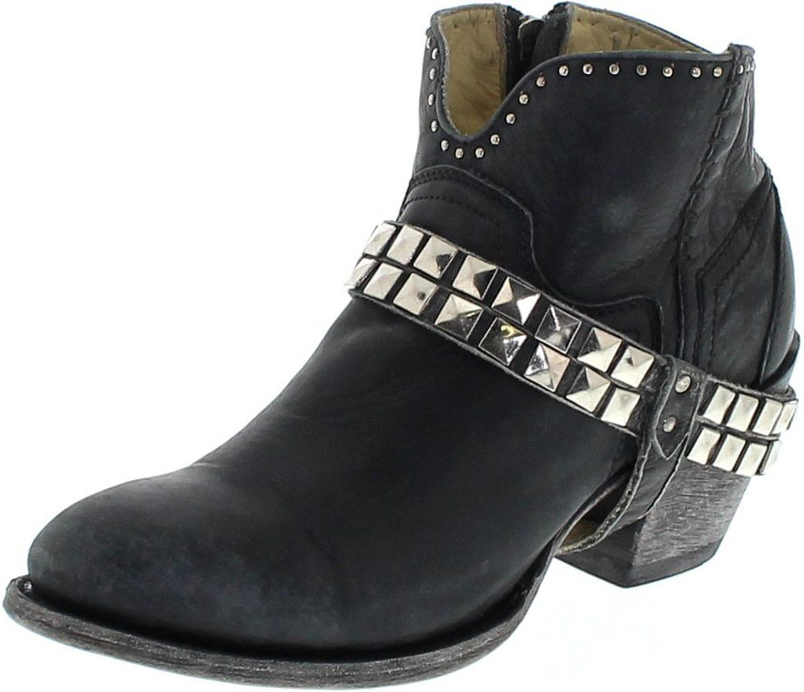 Corral Boots G1399 Black Fashion Stiefelette - schwarz