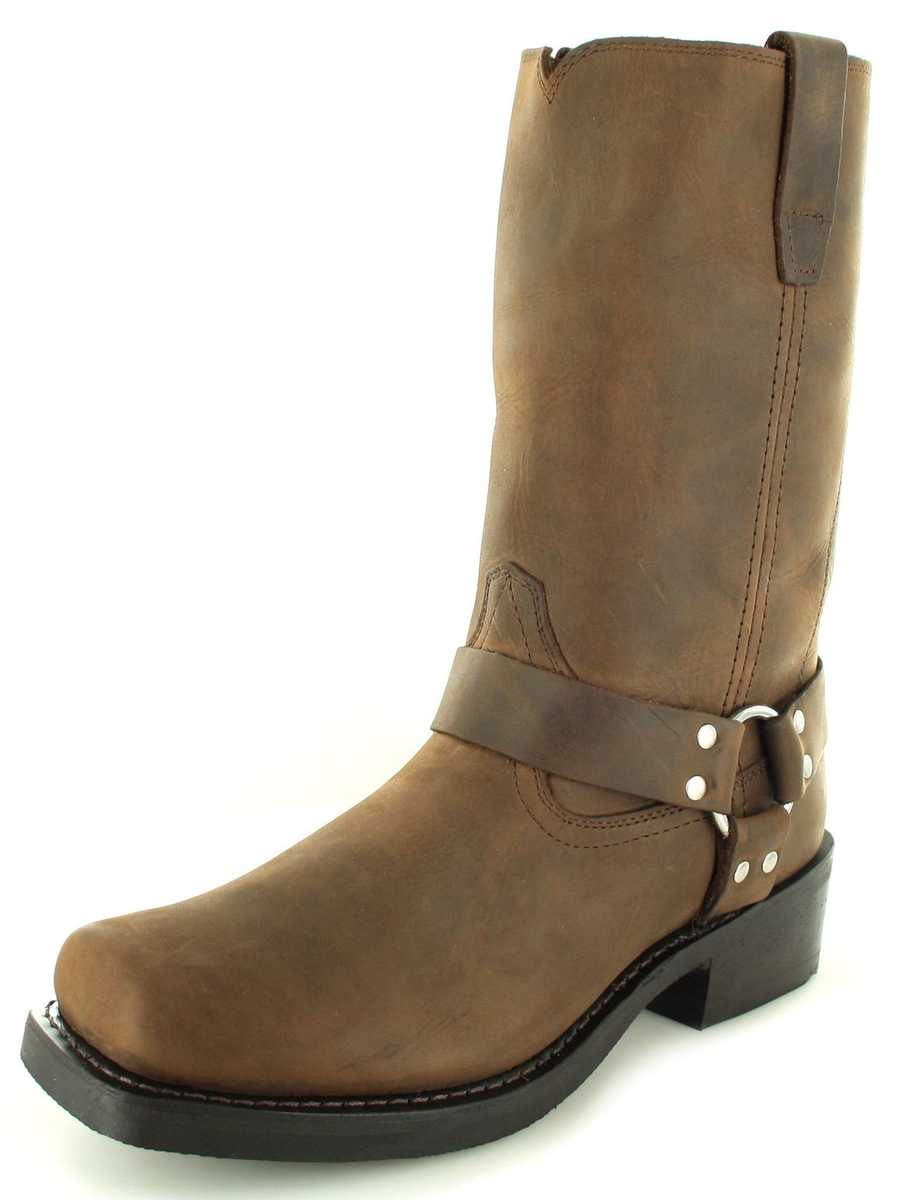 DURANGO DB594 D BROWN HARNESS BOOT