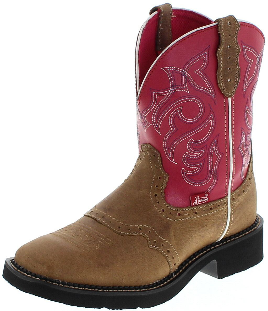 Justin Boots L2926 Western riding boots - brown red