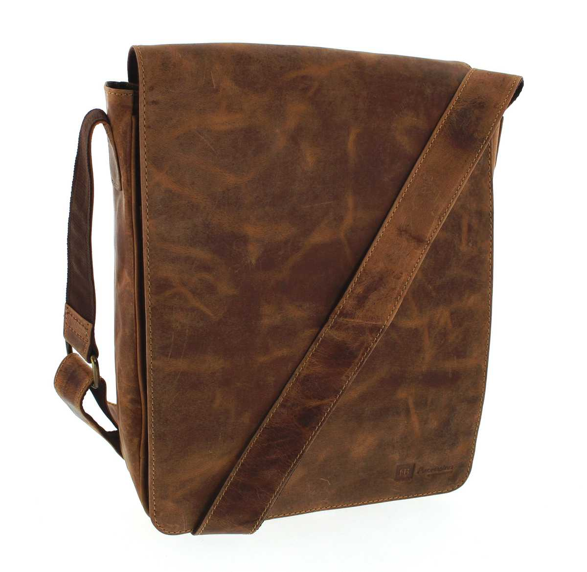 Fashion Boots FB Bags 846 Messenger Bag Distressed Red leatherbag