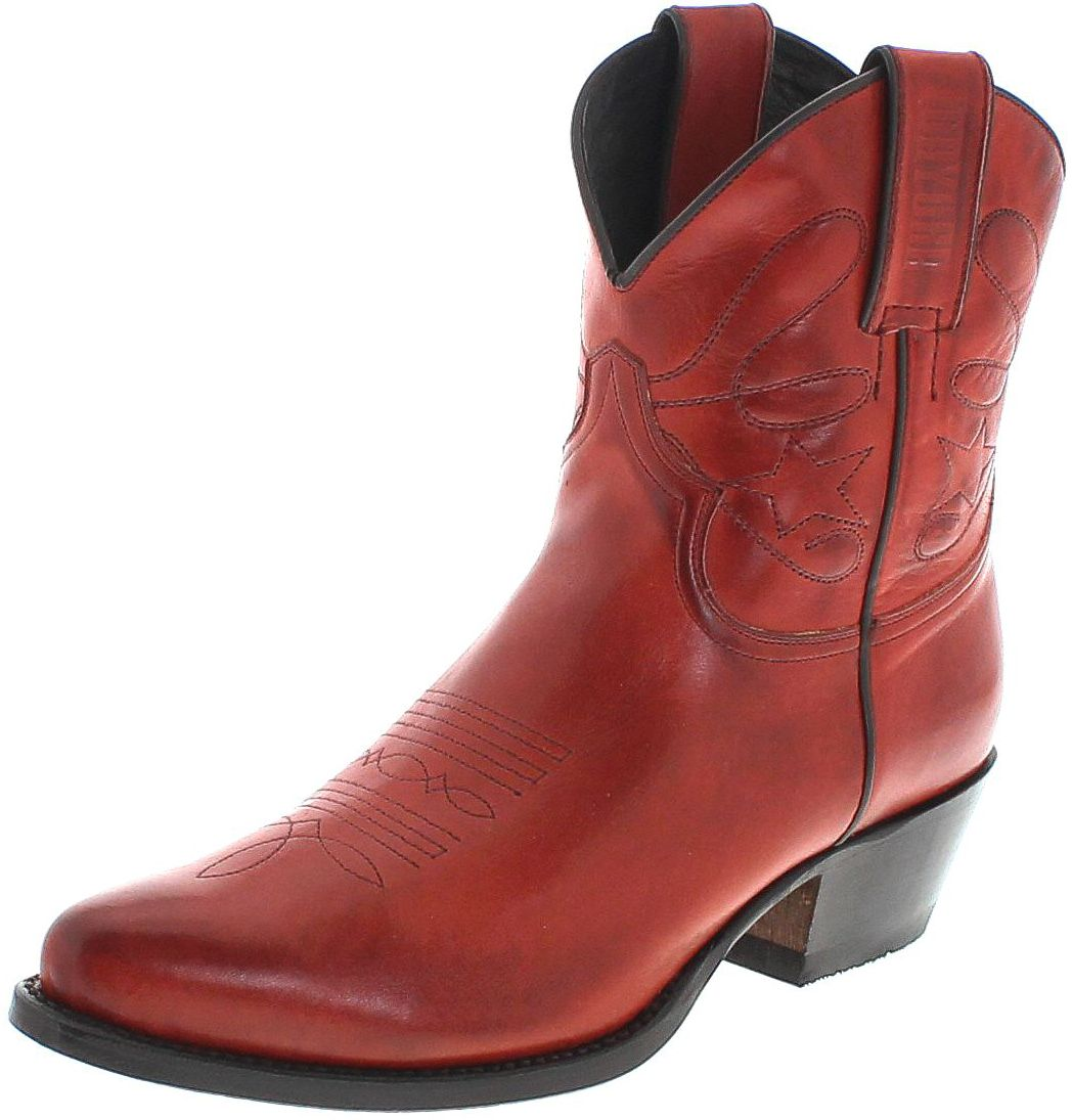 Mayura Boots 2374 Rojo Fashion Westernboot - red