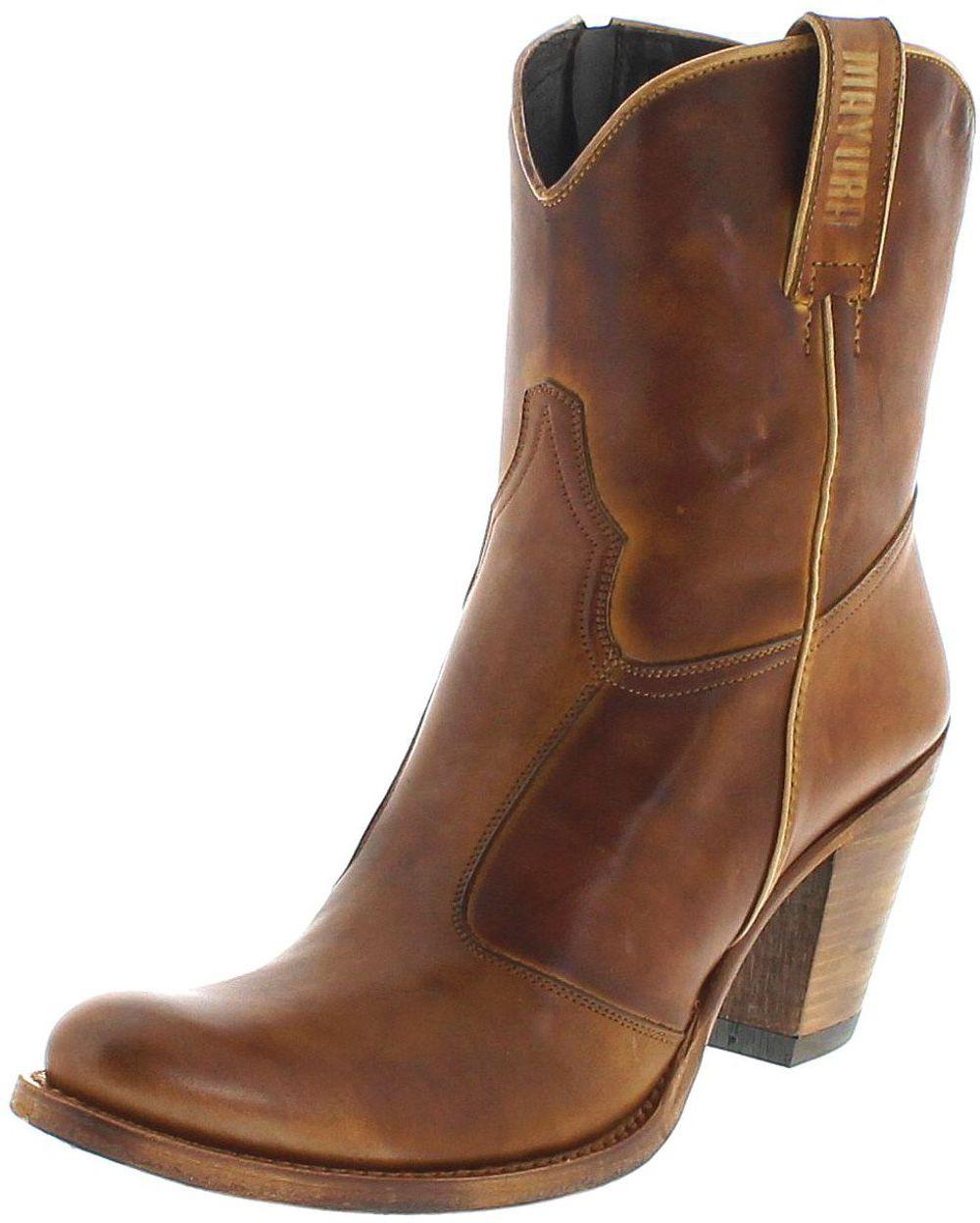 Mayura Boots MB028 Lavado Cuero Fashion Stiefelette - Braun