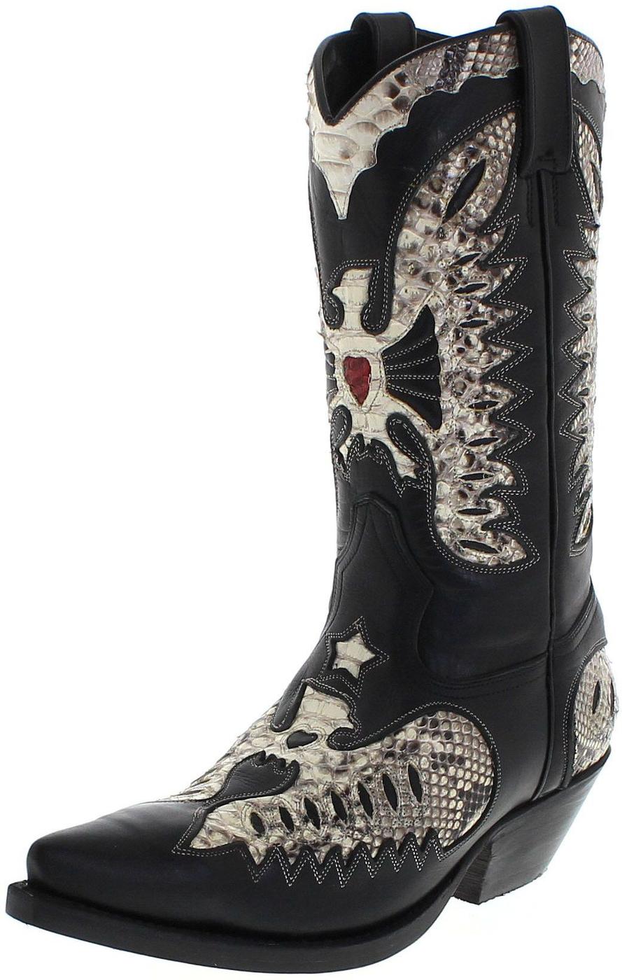Primeboots 720 Python Black White Exotic boots - black white