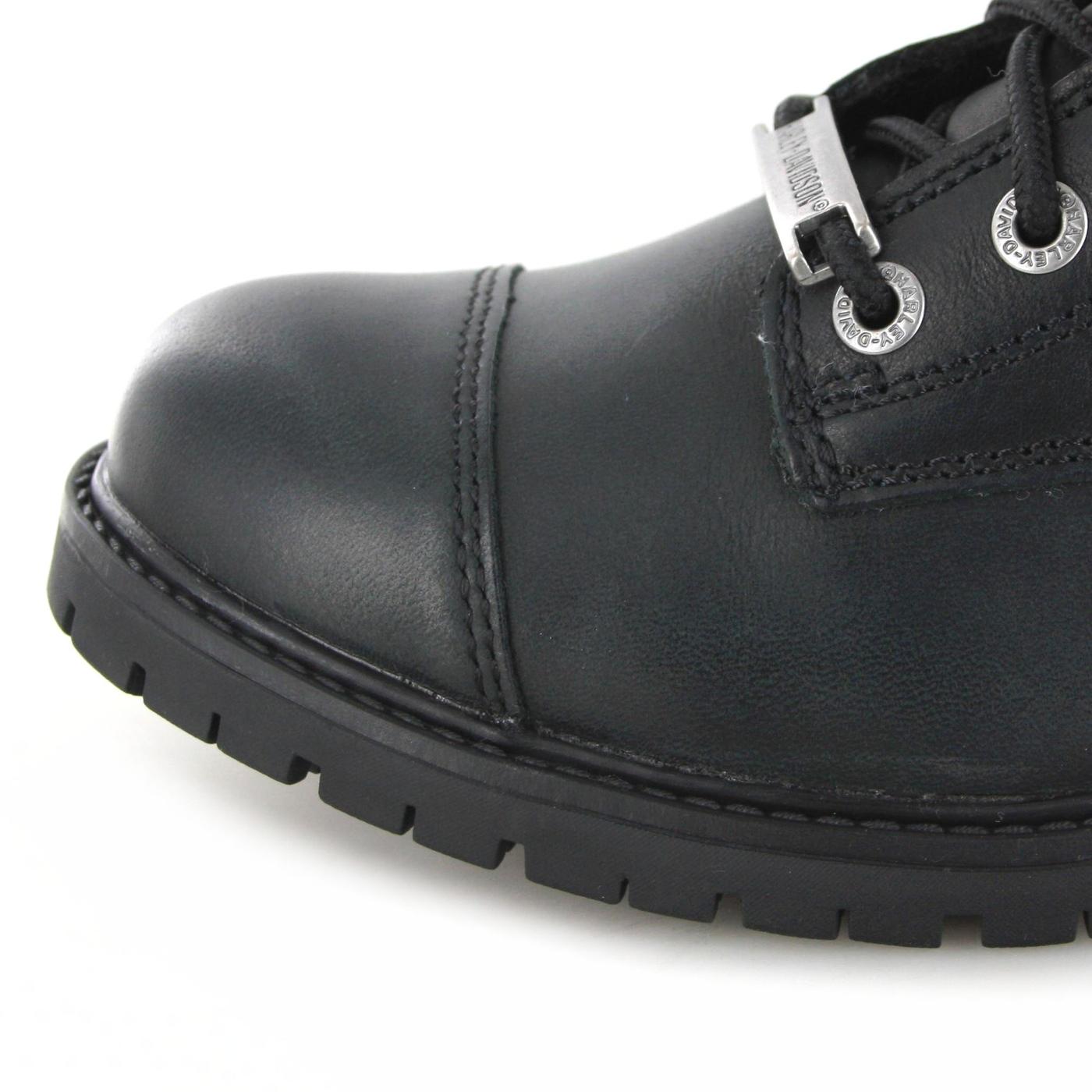 097d8b534fa4 Harley-Davidson D93461 BOWERS Black Lace-up boots - Black – Bild 2