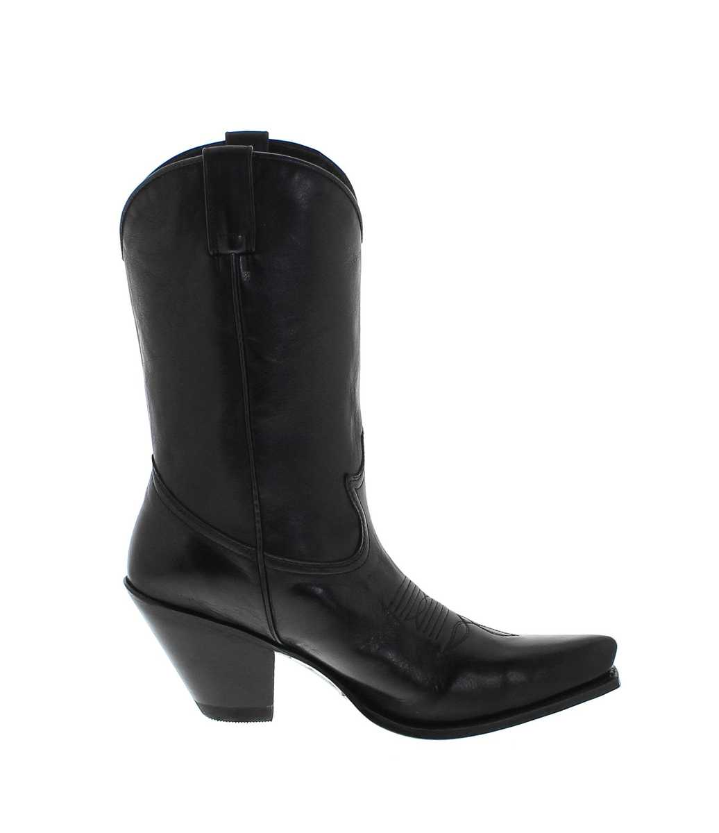 ad3ede12a95 Sendra Boots 15422 Negro Womens Western boot - black