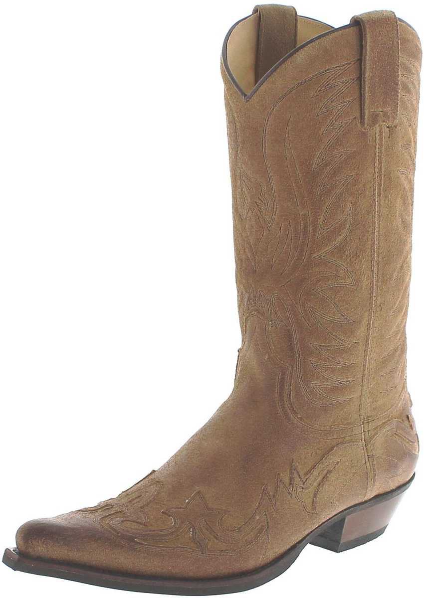 Fashion Boots BU1005 Noche Usado Marron Cowboy boot - brown