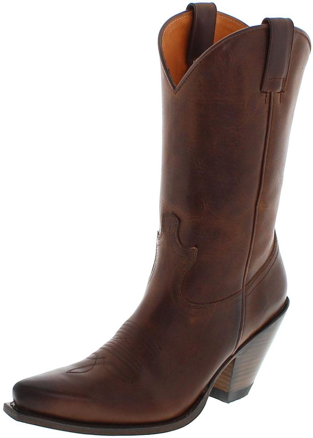 delicate kleuren speciaal voor schoenen kortingscode Sendra Boots 15422 Tang dames western laars - bruin