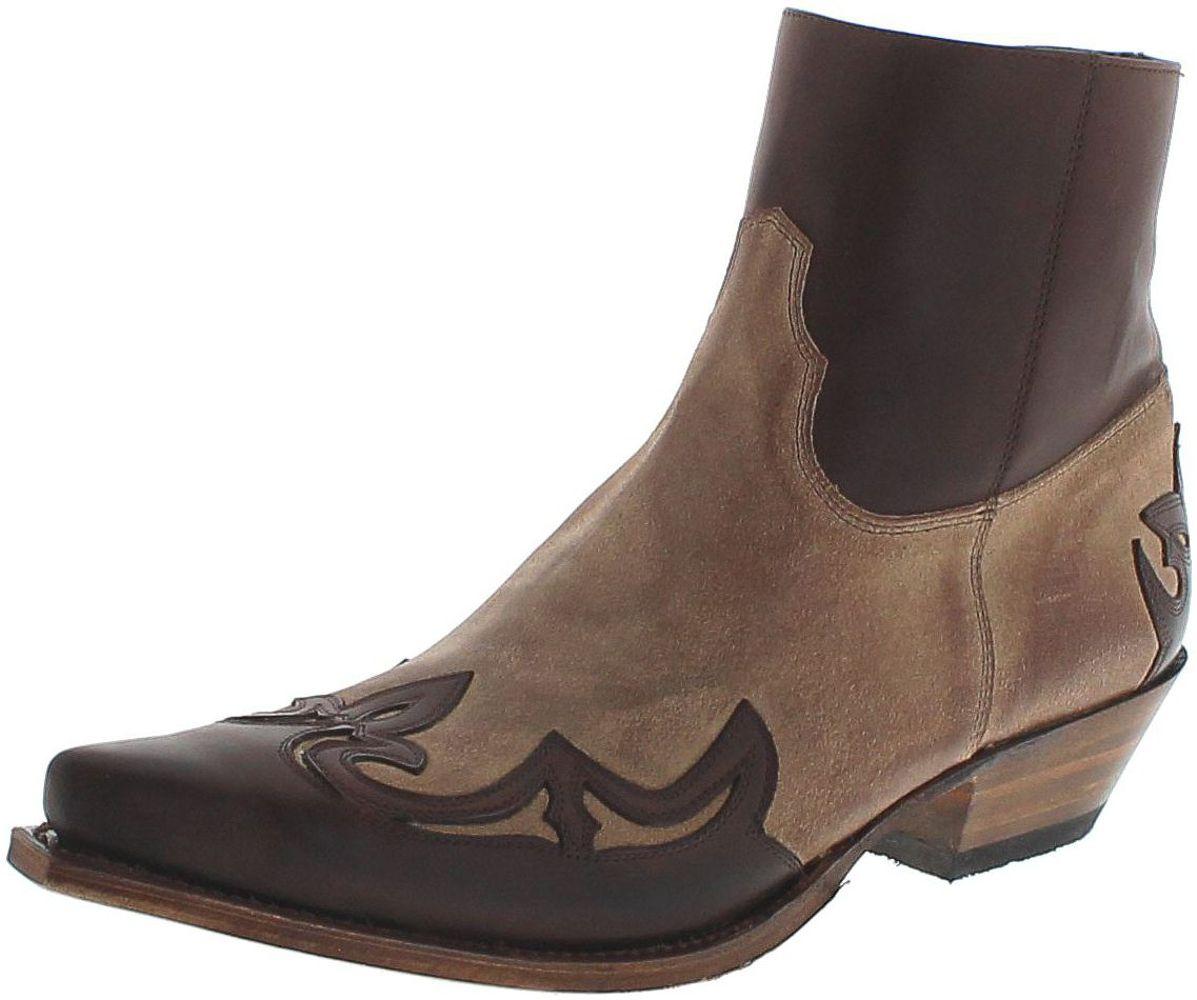 Sendra Boots 14379 Chocolate Firenze Westernstiefelette - braun