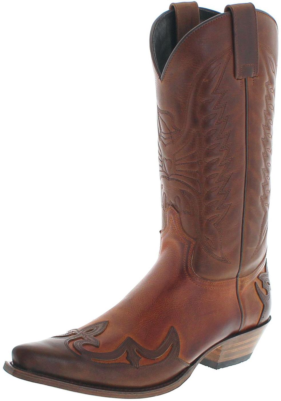 Sendra Boots 13170 Tang Papaya Westernstiefel - braun