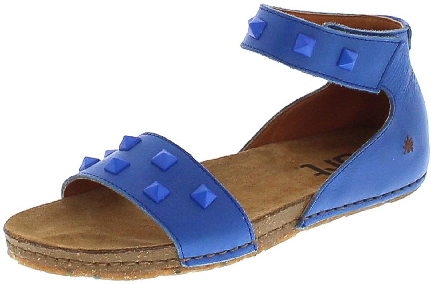 Art 1251A CRETA Sea Damen Slingbag Ledersandale - blau
