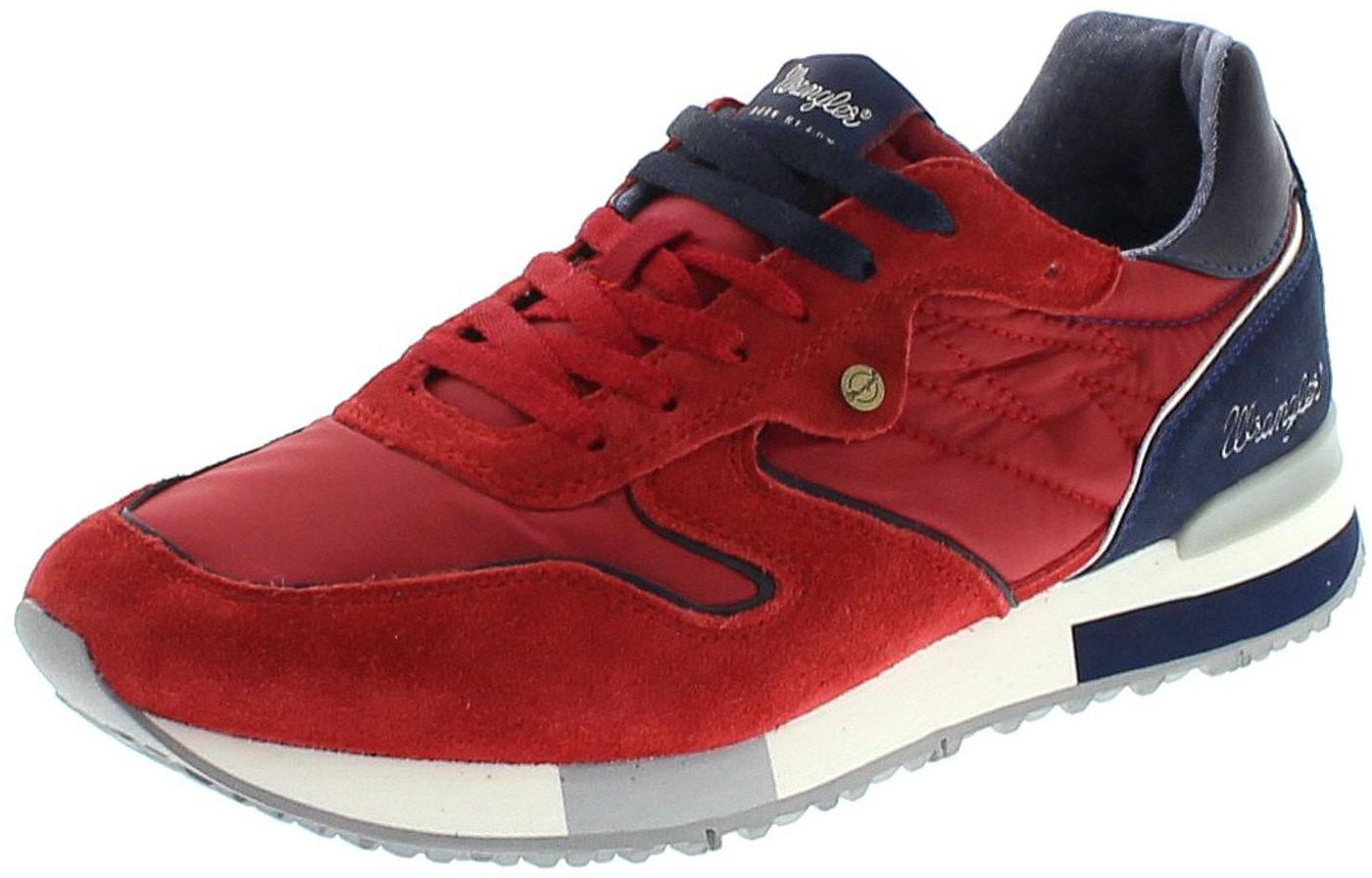 Wrangler WM181081 FOREST Red Mens Sneaker - red