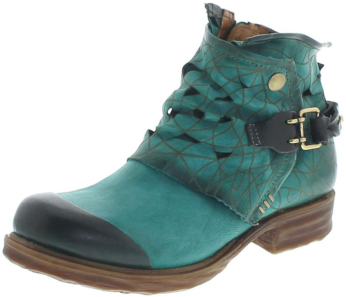 A.S.98 259225 Mitro Ankle Boot - green
