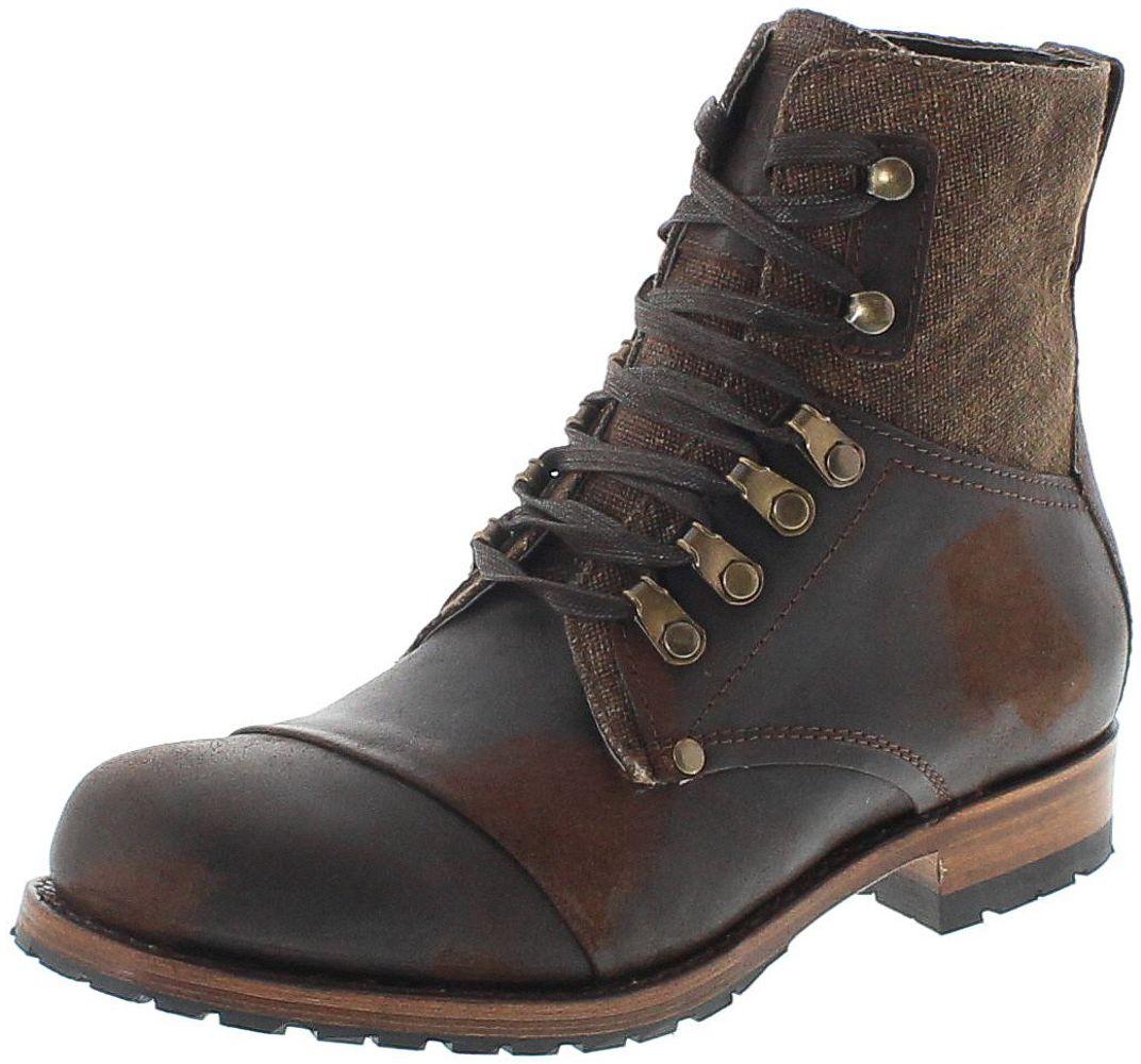 Sendra Boots 15187 Filicudi Visone Schnürstiefel - braun