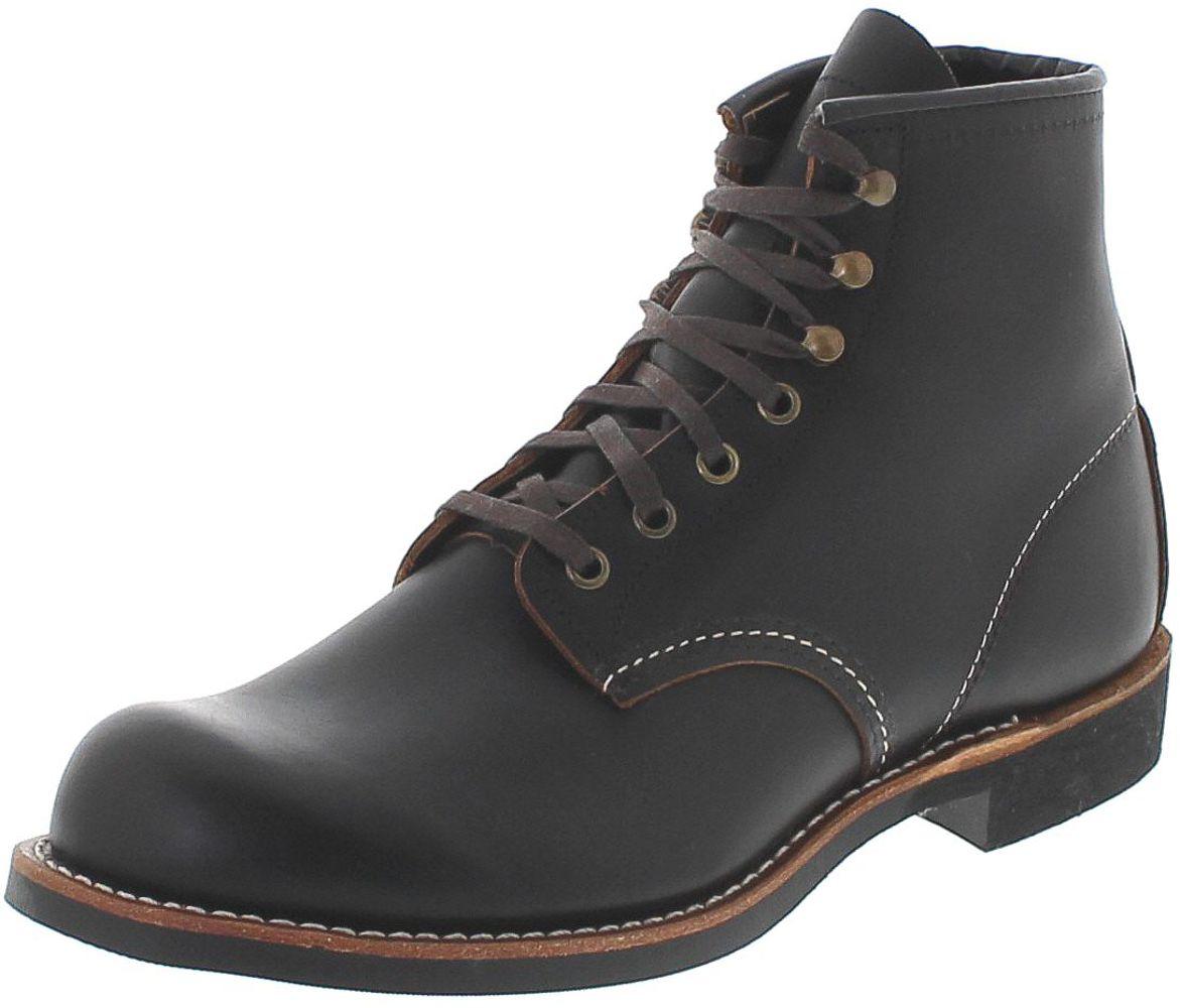 Red Wing Shoes 3345 BLACKSMITH Black Herren Schnürstiefel - schwarz
