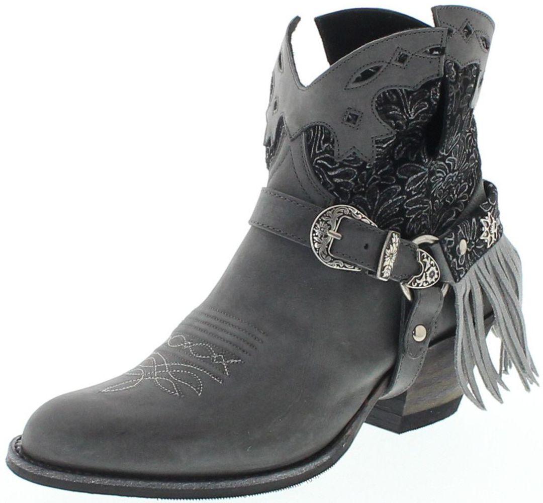 Sendra Boots 15448 DeboraNL Lia Floter Chaira Lavado Fashion bootie - grey