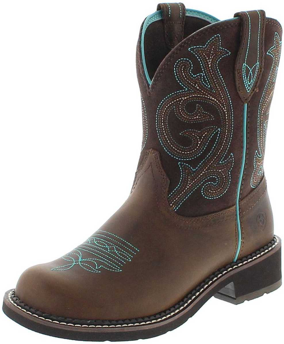 Ariat 21462 FATBABY HERITAGE Distressed westernridingboot - brown