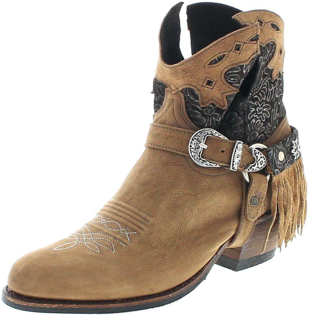 Sendra Boots 15448 DeboraNL Lia Oxido 498 Fashion Stiefelette - braun