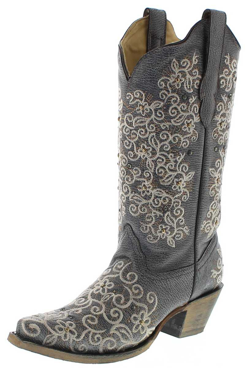 Corral Boots R1408 Gray Westernboots - gray