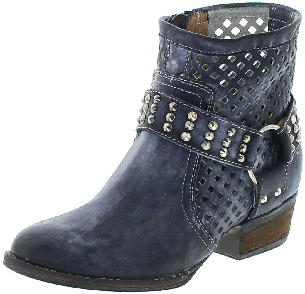 Mezcalero Boots 1705 DE LUXE Navy Fashion Ankle Boot - blue