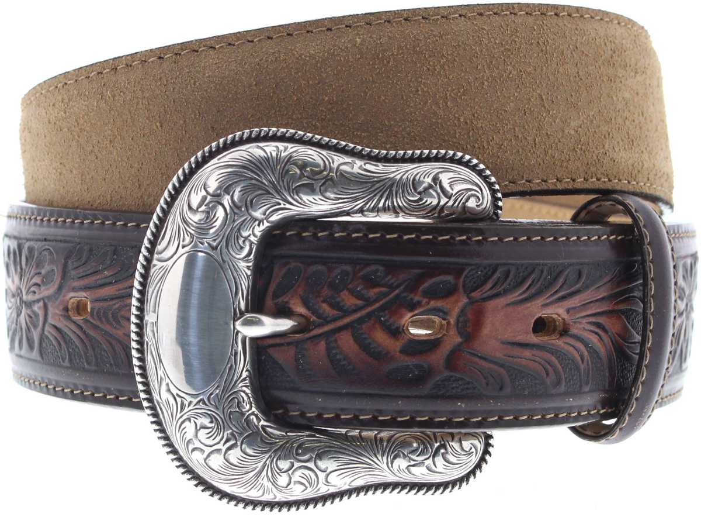 Justin Belts C13718 Tan The Montana Westerngürtel - braun