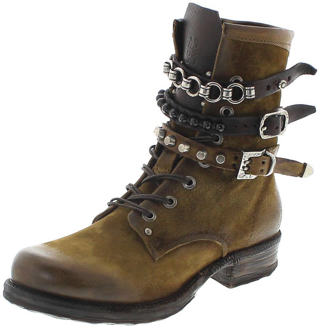 A.S.98 520278 Senape Fashion Boot - green