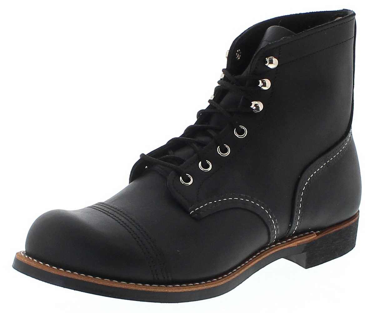 Red Wing Shoes 8084 IRON RANGER Black Herren Schnürstiefel - schwarz