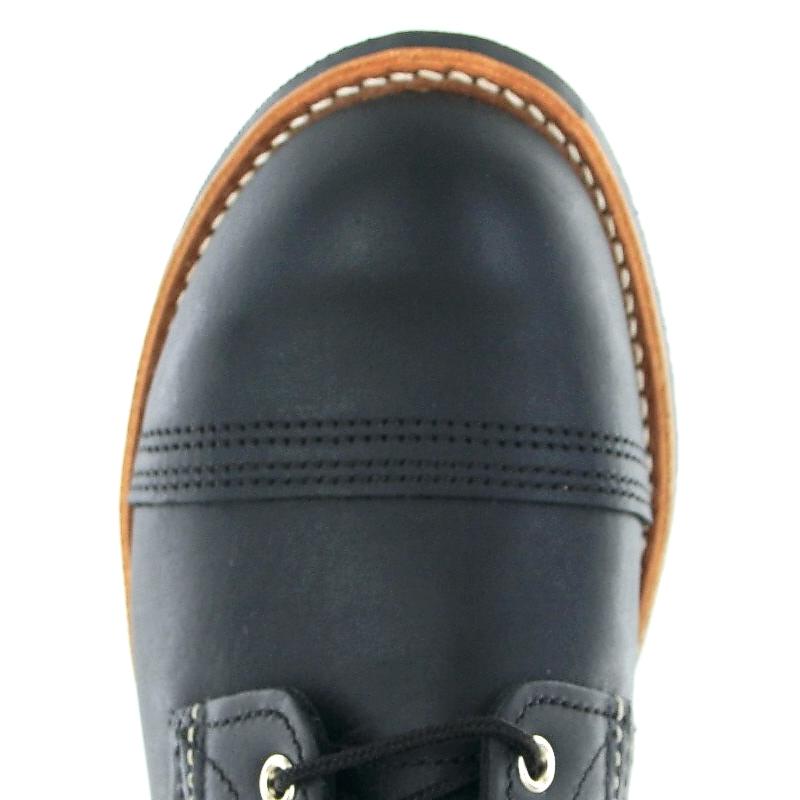 Shoes Red Iron 8084 Ranger Schnürstiefel Schwarz Wing Herren Black bf76gYvy