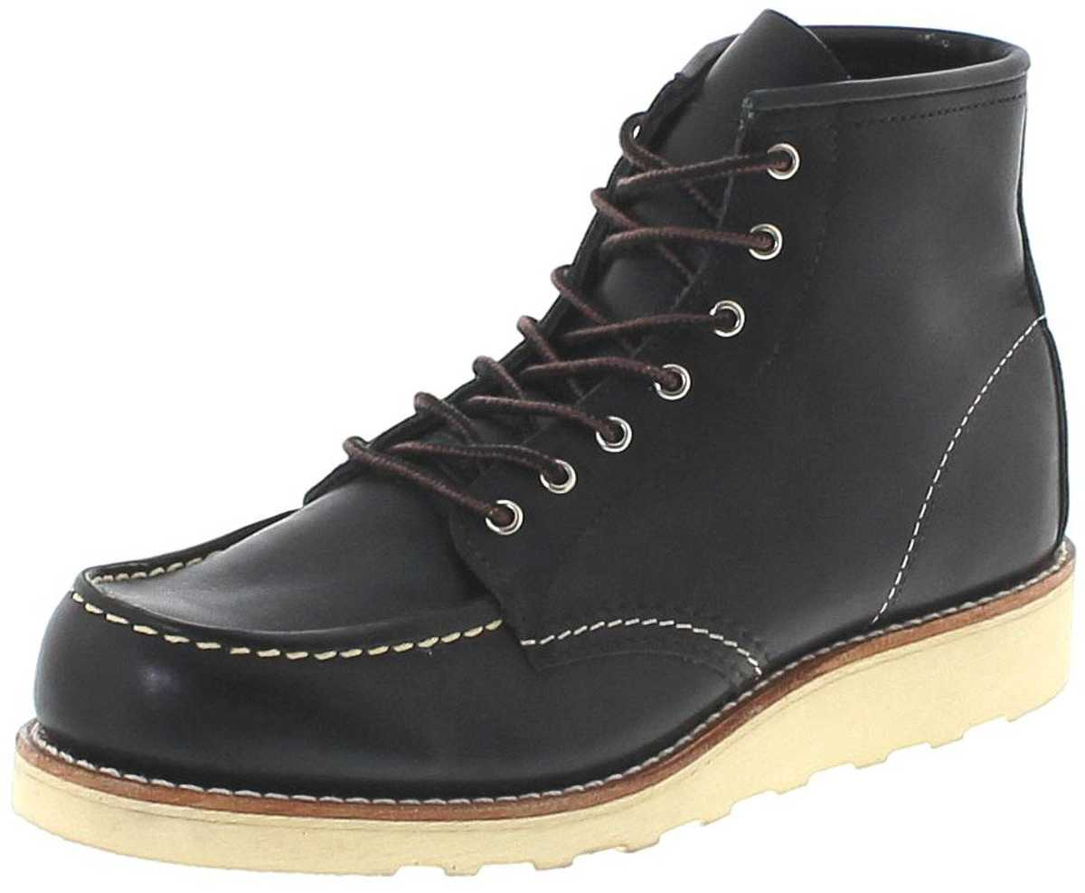 Red Wing Shoes 3373 MOC TOE Black Lace-up boots - black