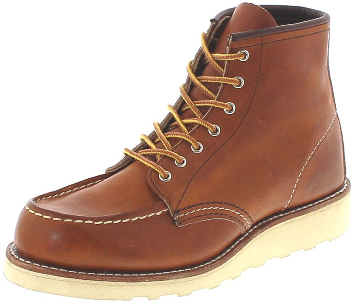 Red Wings Shoes 3375 MOC TOE Oro Legacy Lace-up boots - brown