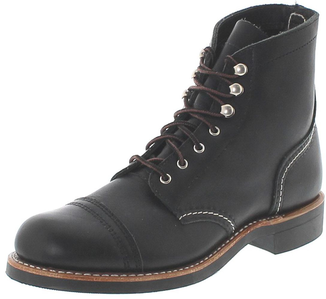 Red Wing Shoes 3366  IRON RANGER Black Damen Schnürstiefel - schwarz