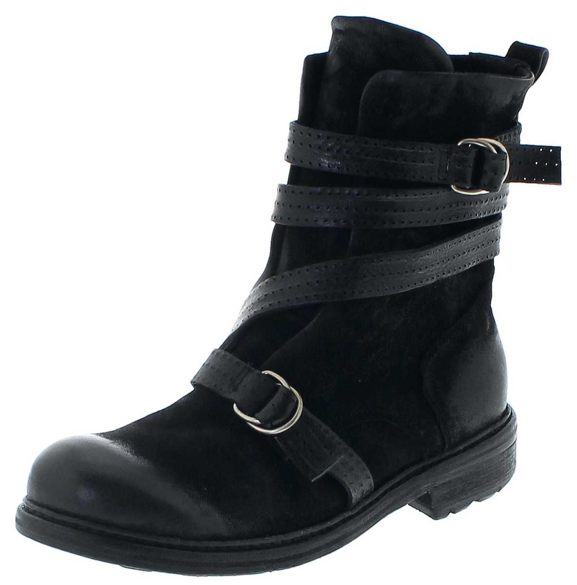 A.S.98 327204 Nero Fashion ankle boot - black