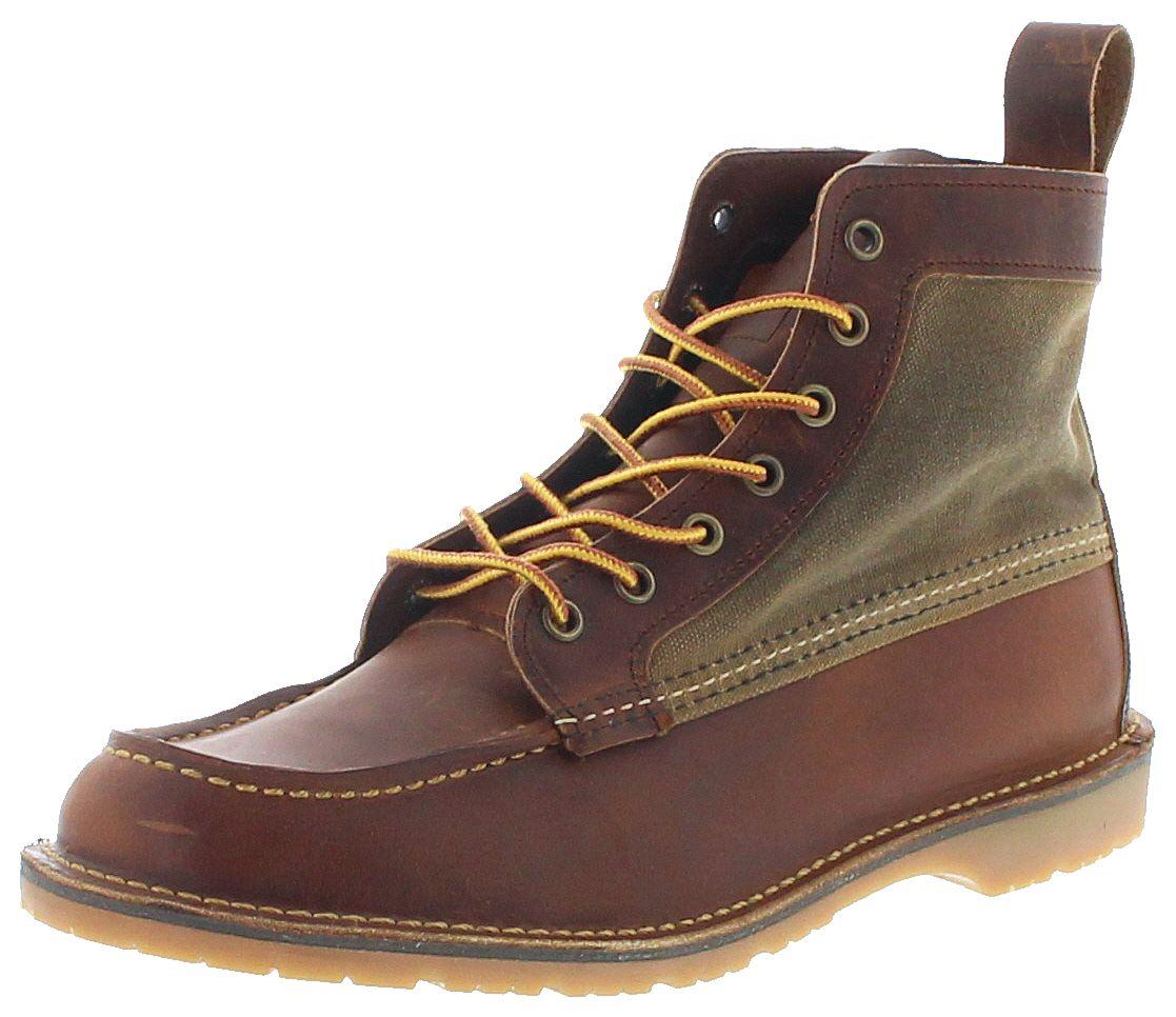 Red Wing Shoes 3335 WACOUTA Cooper Tan Men's laced boots - brown