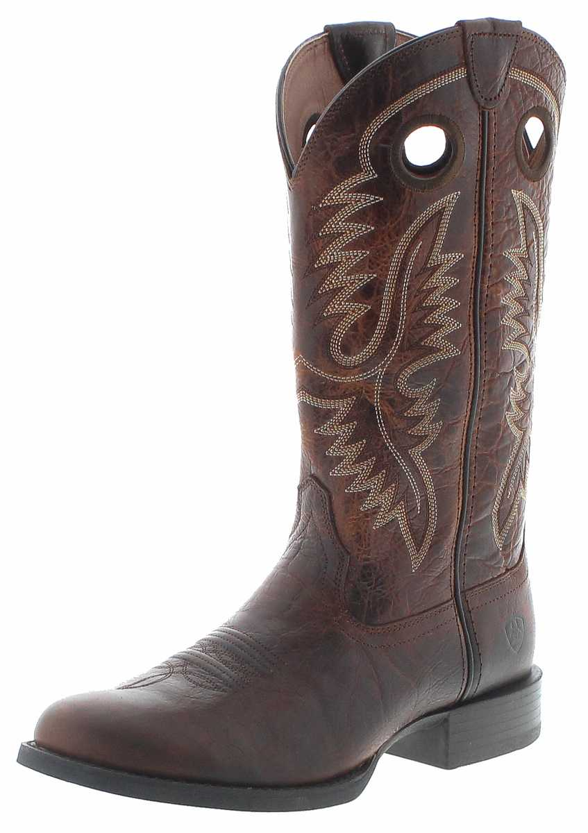 ARIAT 27216 SPORT BIG HOSS Brown Patina Western riding boots - brown